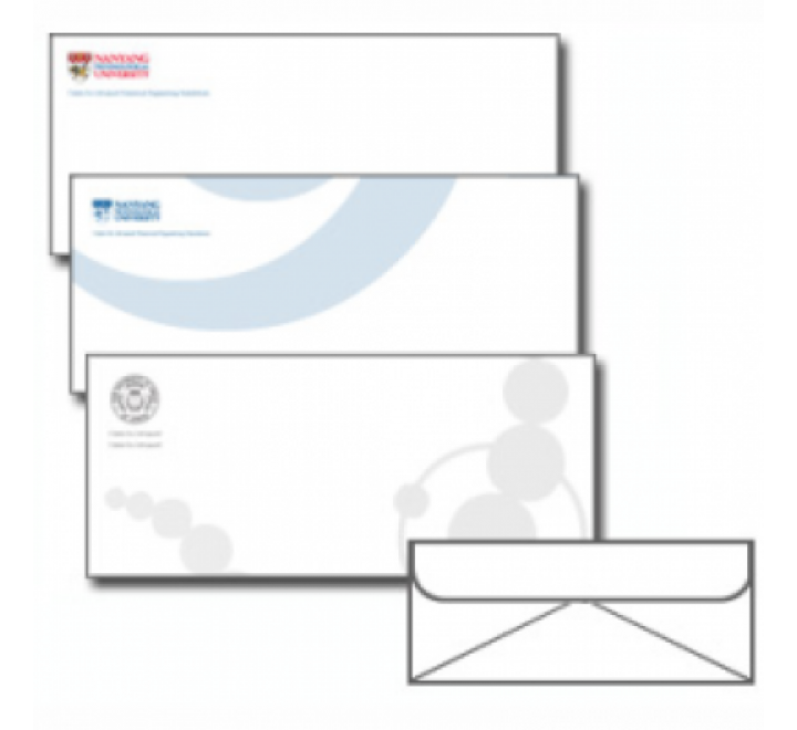 1 Colour Envelopes Printing