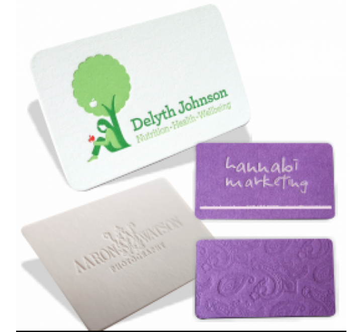 Embossed Business Cards Printing UK