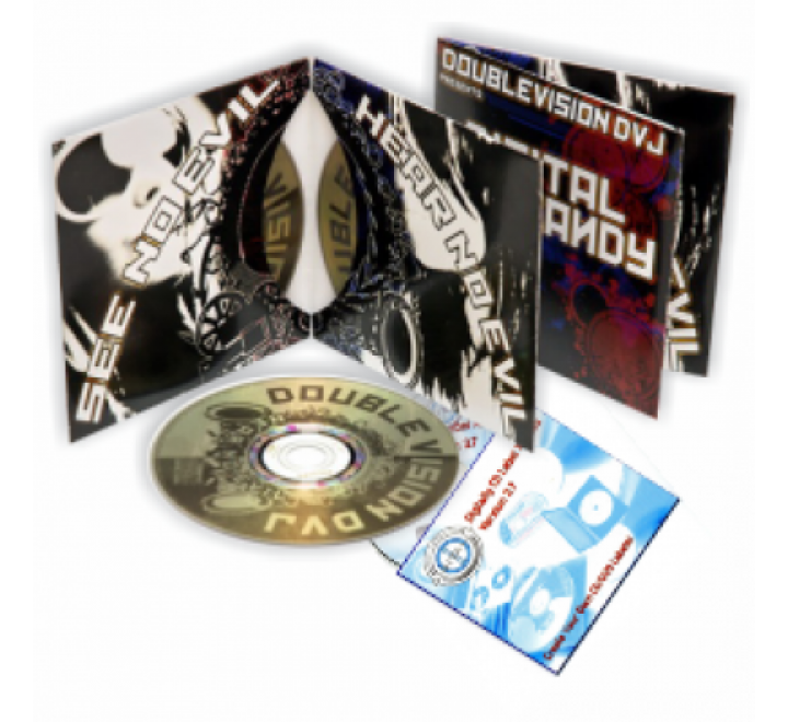 2 Panel CD Jacket Printing | 2 Panel DVD Jackets
