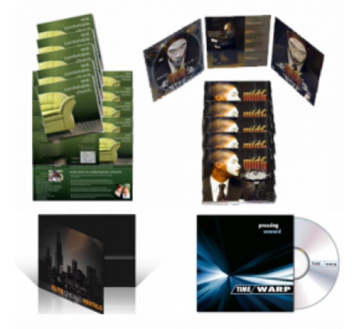6 Panel CD Jacket Printing | 6 Panel DVD Jackets