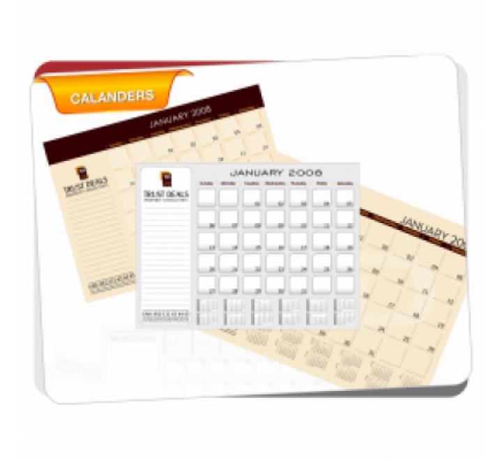 A3 Size Calendar
