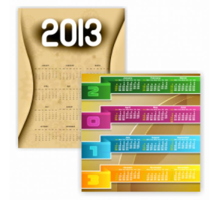 A5 Size Calendar