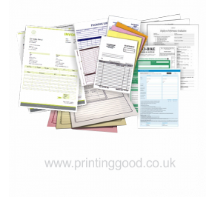3 Part Carbonless Forms Printing   3 Part NCR