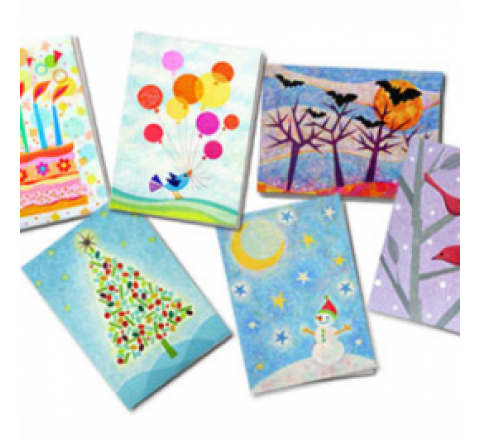 7 X 5 Greeting Cards Printing