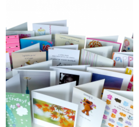 Folded Greeting Cards Printing