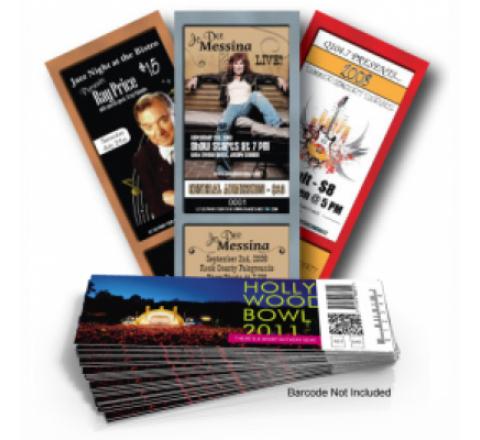 Standard Ticket Printing