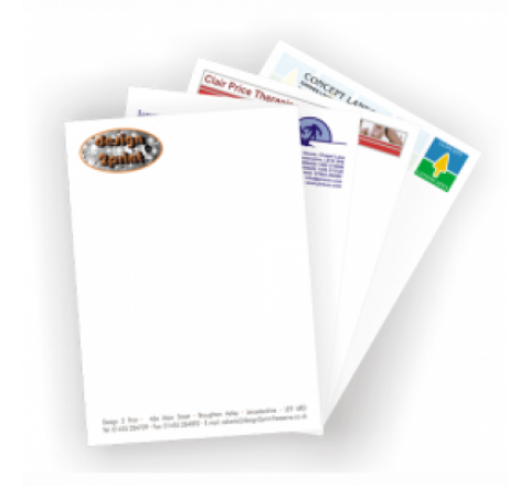 8.5 x 11 Letterhead Printing