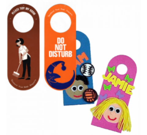 Round Shaped Door Hangers