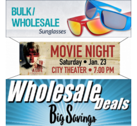 Wholesale Banners Online
