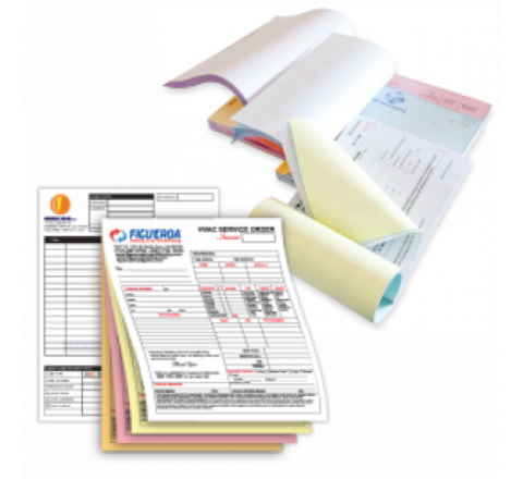 2 Part Carbonless Forms Printing | 2 Part NCR