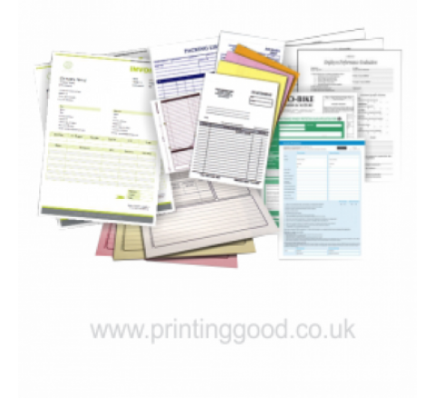 3 Part Carbonless Forms Printing | 3 Part NCR