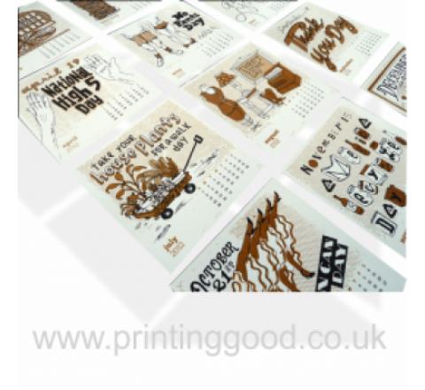 Poster Calendar Printing