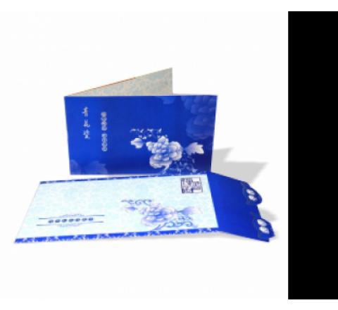 Folded Postcards Printing